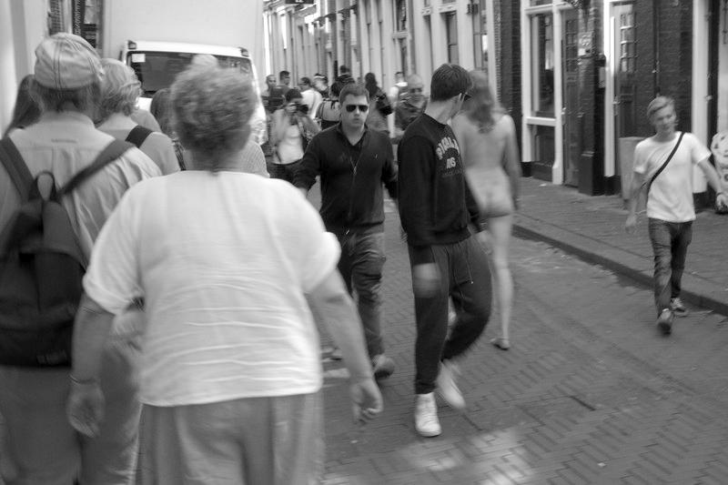 Sraßenszene Amsterdam