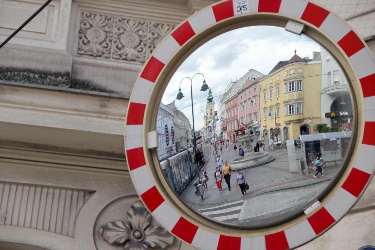 Szene in Linz